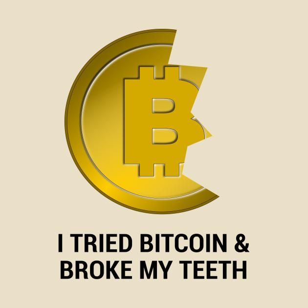 Bitcoin Teeth (light)