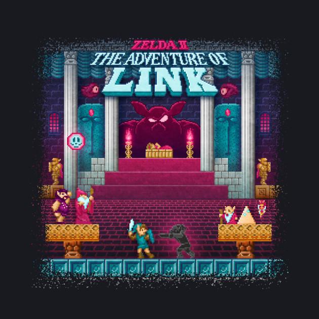 The Link Adventure of Zelda, too