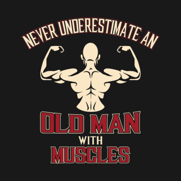 Bodybuilding Old man with muscles it is not offical nut things are getting serious