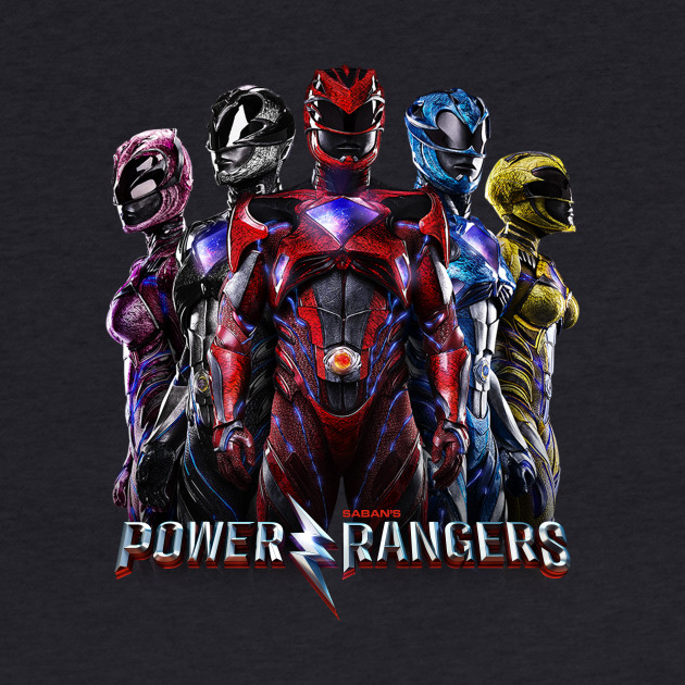 Power Rangers 2017 Movie Tee 2
