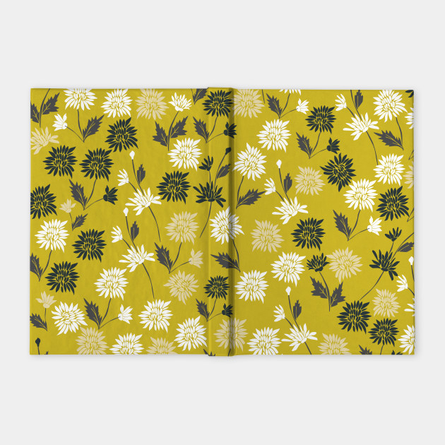 Chinoiserie pattern with flowers