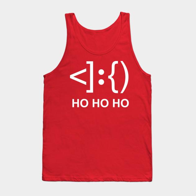 Santa Face Keyboard Symbols Santa Tank Top Teepublic