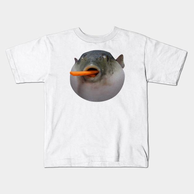 Puffer fish Meme - Meme - Kids T-Shirt | TeePublic