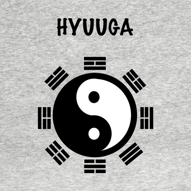 Hyuuga Clan Crest Naruto Hyuuga Clan Crest Naruto T Shirt