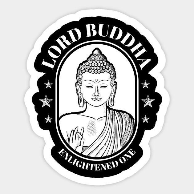 Gautama Buddha Enlightened One Zen Buddhism Buddha Sticker