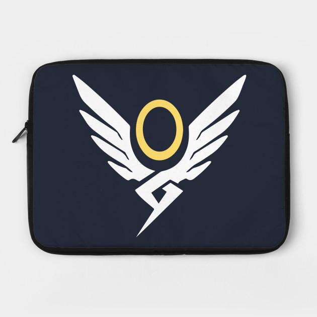 Mercy Special Logo Overwatch Overwatch Laptop Case Teepublic