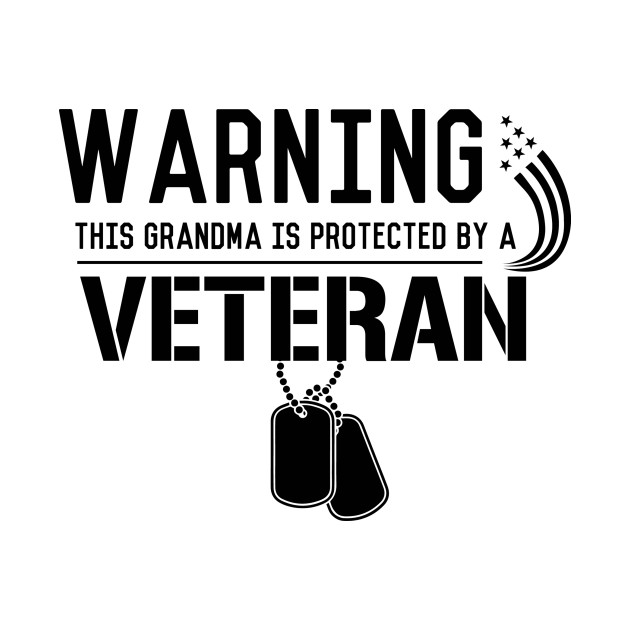 Warning: this grandma is protected by a veteran