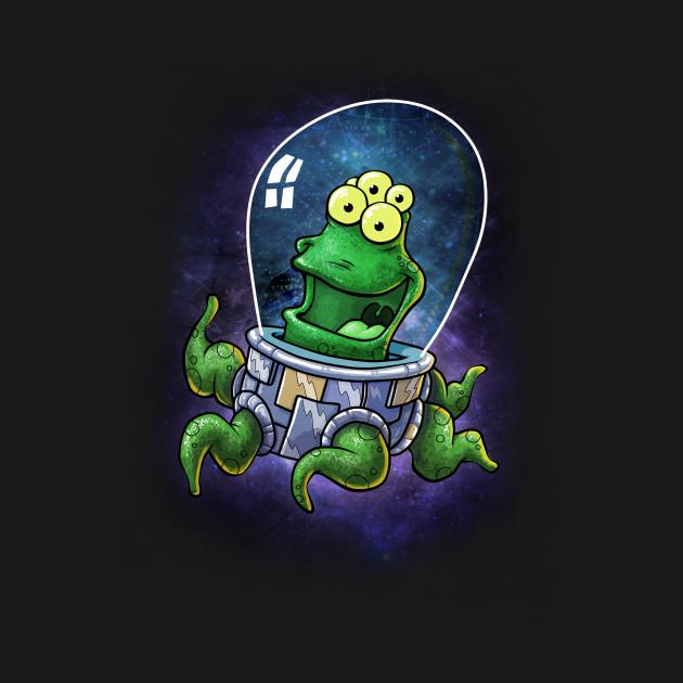 Alien Ufo Combo T-Shirt