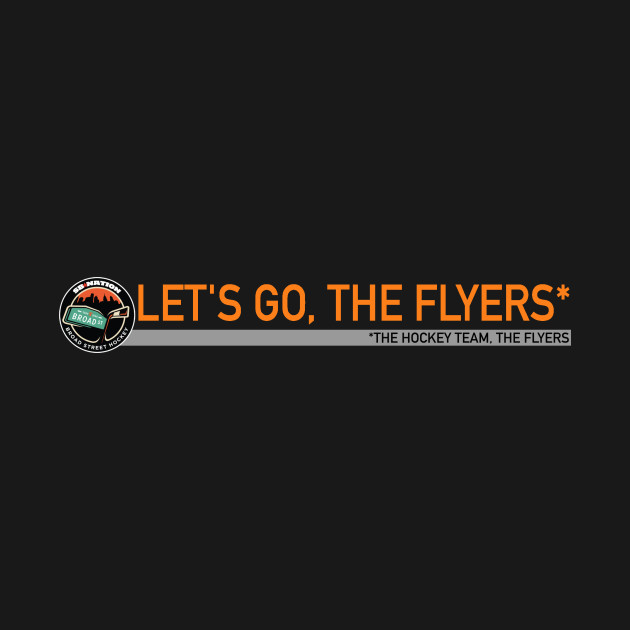 Let's go, the Flyers!