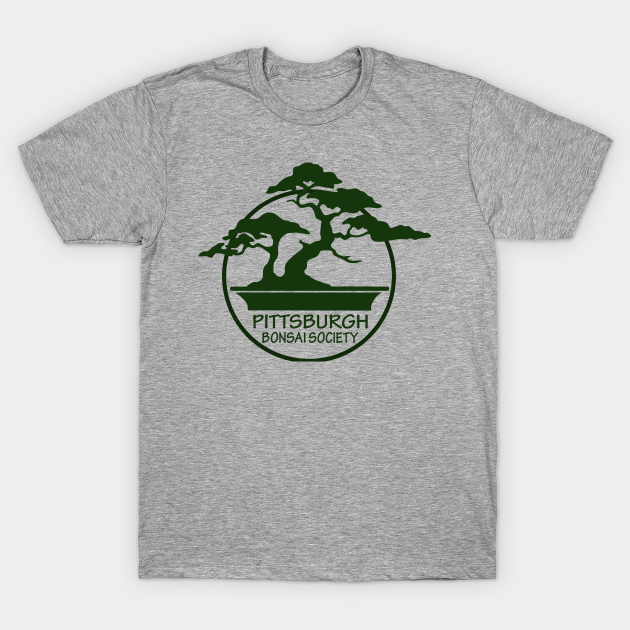 Pittsburgh Bonsai Society Logo Bonsai T Shirt Teepublic