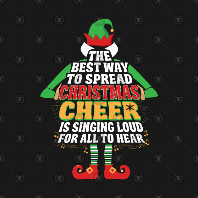 Awesome Elf Christmas Cheer Singing Loud Movie Quotes By Interdesign