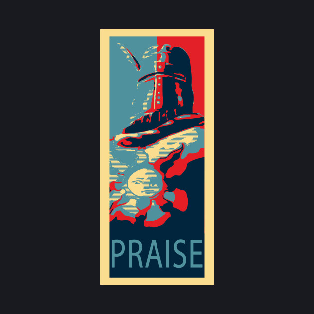 Knight Solaire Obama poster