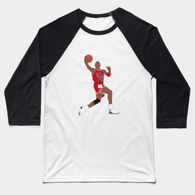 ee7044ae61dd32 Michael Jordan Dunk - Michael Jordan - Baseball T-Shirt