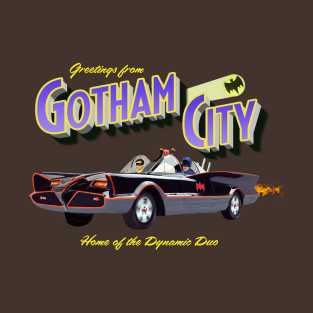 Burt ward gifts and merchandise teepublic greetings from gotham city t shirt m4hsunfo