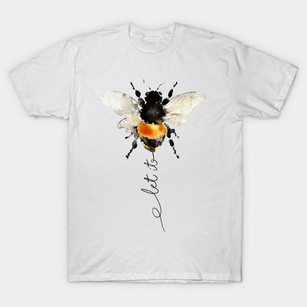 5d9ac51e let it bee - let it be bee shirt - hippie bee t-shirt - Let It Bee ...