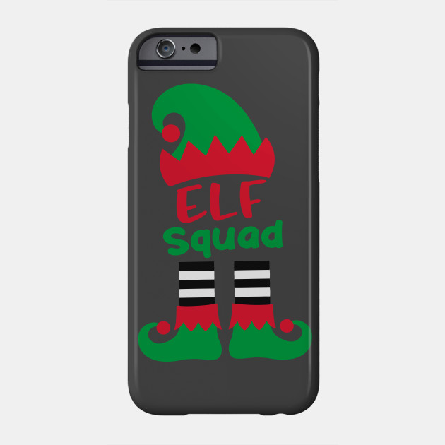 Elf Squad Funny Christmas Holiday Group Elf Family Christmas Phone Case