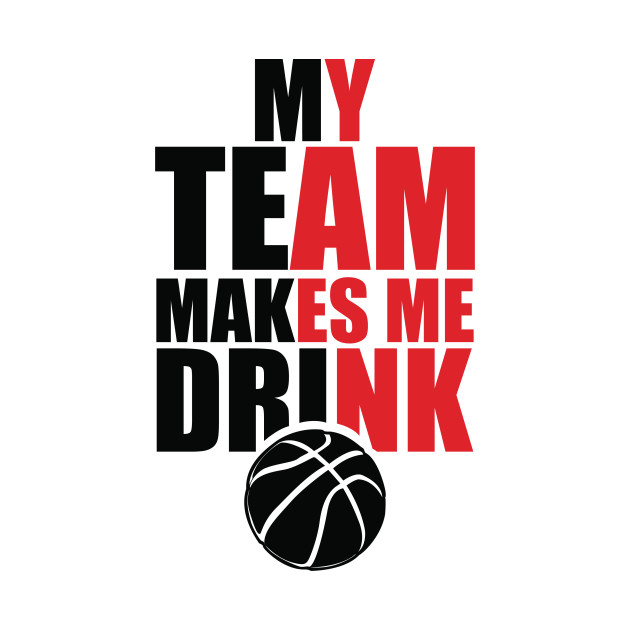 NBA Portland Trailblazers Drink