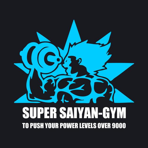 Super Saiyan Gym Push Your Power
