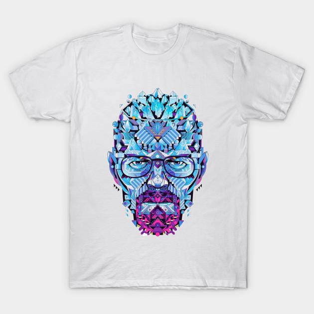 b04b3c33f Breaking Bad walter white heisenberg with crystal meth mr.white T-Shirt