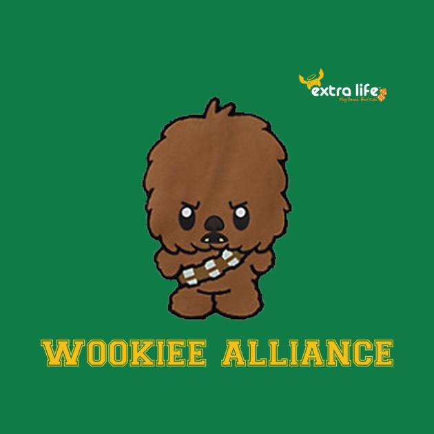Wookiee Alliance 2017 Orange Text