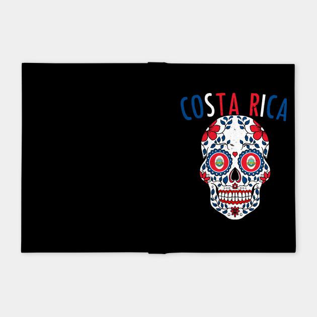 193b1e3e5 ... Calavera Costa Rica World Cup Team Flag Soccer Jersey Kosta Rika 2018  ...
