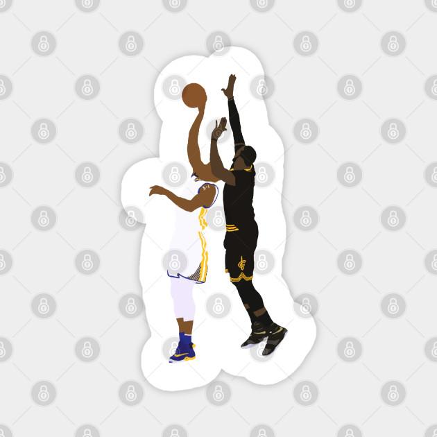 LeBron James Block On Andre Iguodala