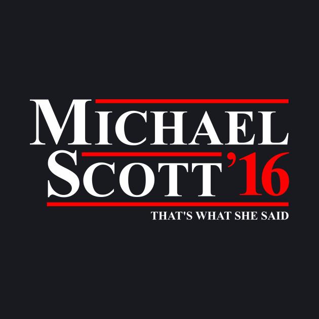 MICHAEL SCOTT 2016