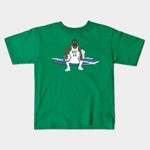 aa75e15aa8c Kyrie Irving Is Woke - Kyrie Irving - Kids T-Shirt