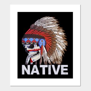 Canvas Native American Pride Art Print Poster