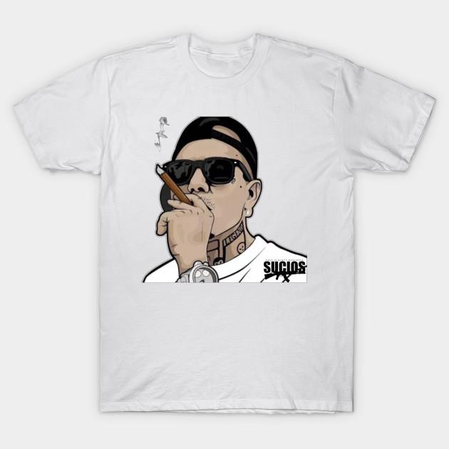 King Lil G Rapper Mexican Rap T-Shirt