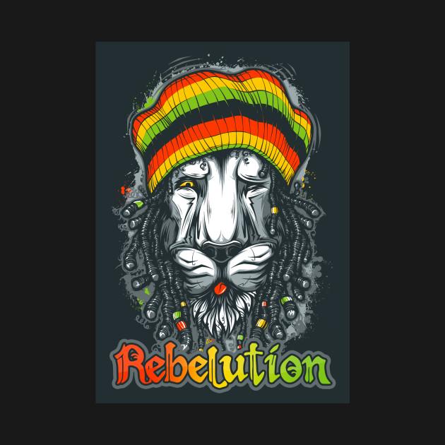 Rebelution Lion Rasta