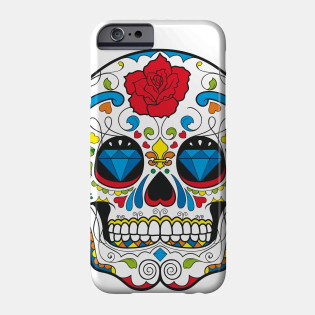 Amazing Cool Skull Skull Phone Case Teepublic