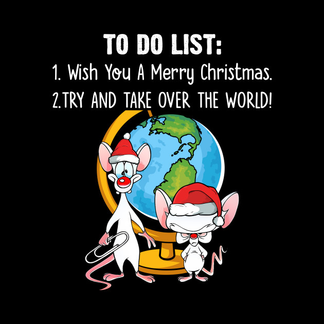 Pinky And The Brain Christmas Wish.Pinky And The Brain On Christmas