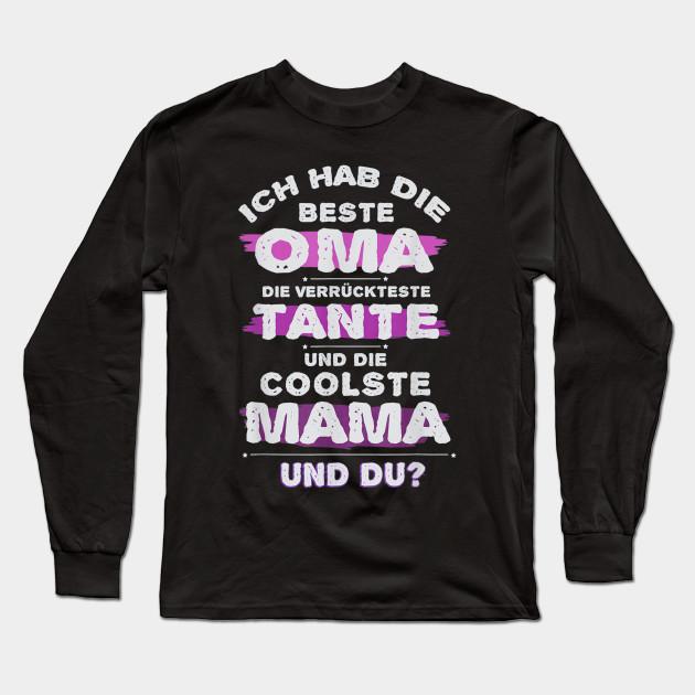 Beste Oma Verrückteste Tante Coolste Mama Stolzes Geschenk