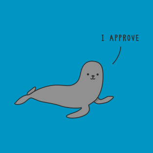 Seal of Approval t-shirts