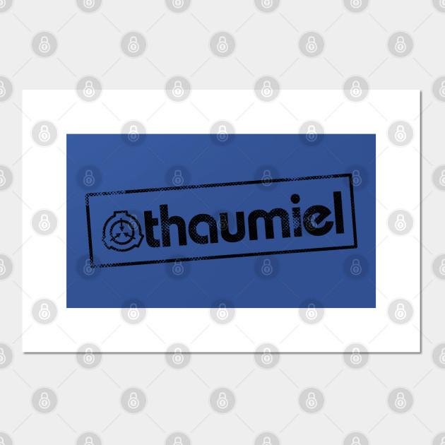 Thaumiel Scp Foundation Object Class Thaumiel Posters And Art Prints Teepublic Uk Like & subscribe to therubber. thaumiel scp foundation object class