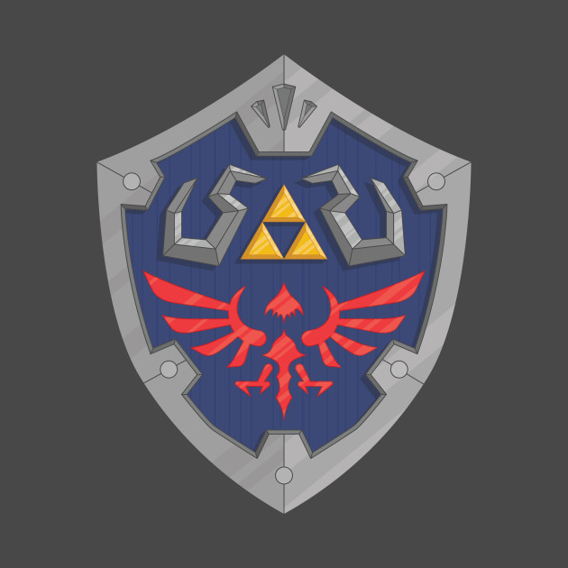 hylian shield zelda nintendo legend of zelda videogames