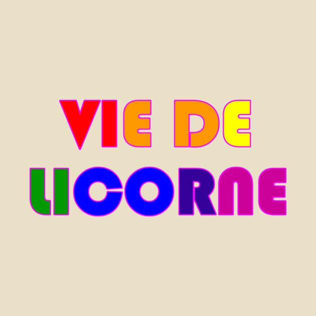 Vie de licorne - logo seulement