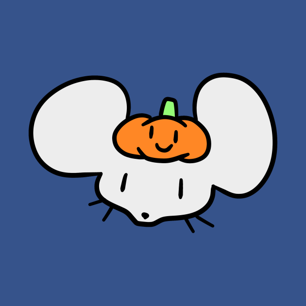 Pumpkin Mouse Face