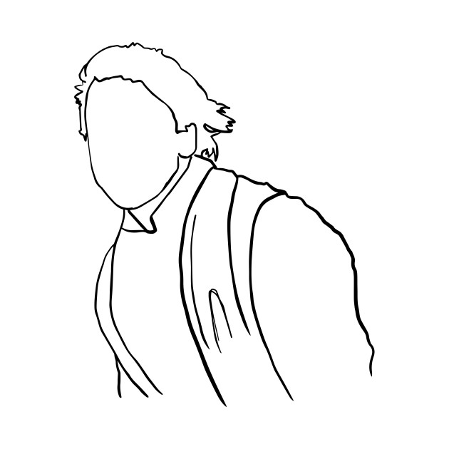 Luke Skywalker Jedi Knight Outline