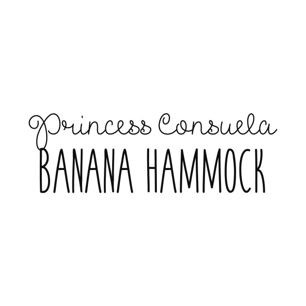 Friends - Princess Consuela Banana Hammock