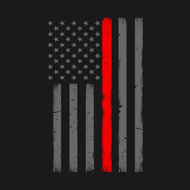 Red Line American Flag >> Thin Red Line American Flag