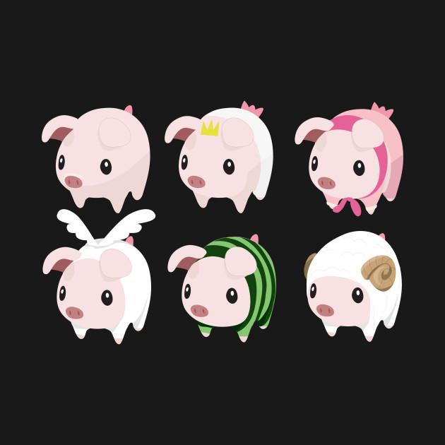 Many Poogie Piggies!