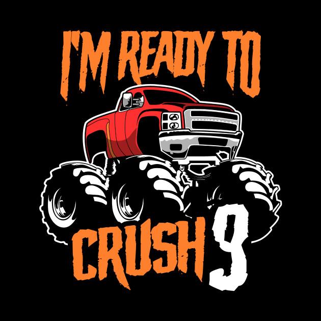 Monster Trucks 3rd Birthday Gift   Big Trucks