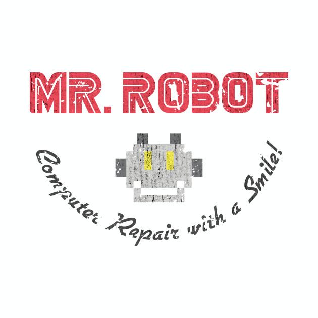 Mr. Robot Dark - Vintage