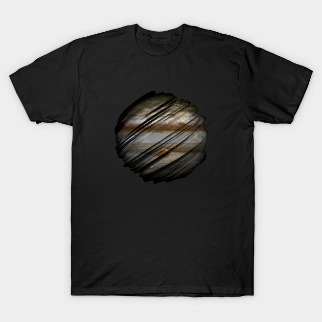 Sliced Planet Jupiter