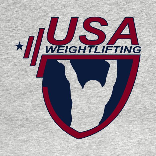 Team Usa Olympic Weightlifting Parody T Shirt Teepublic