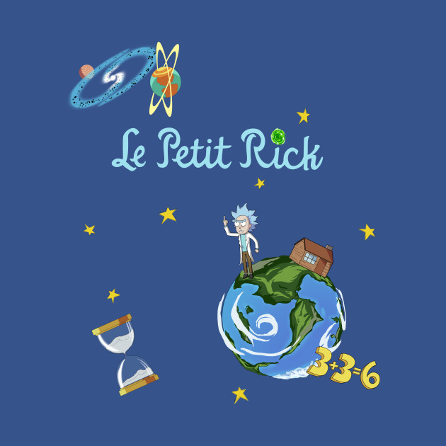 le petit rick rick and morty t shirt teepublic. Black Bedroom Furniture Sets. Home Design Ideas
