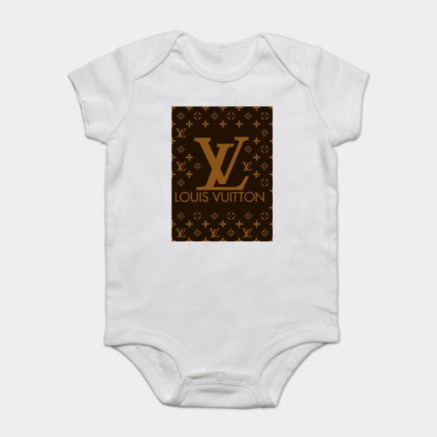 Fun Louis Vuitton Logo Fun Louis Vuitton Logo Onesie Teepublic