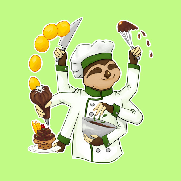 COMMISSIONS | Chef sloth